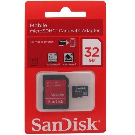 SanDisk 32 GB memory card come with an adapter at the unbeatable price. #memorycard  #memoryslot  #sandiskmemorycard  #32gbmemorycard