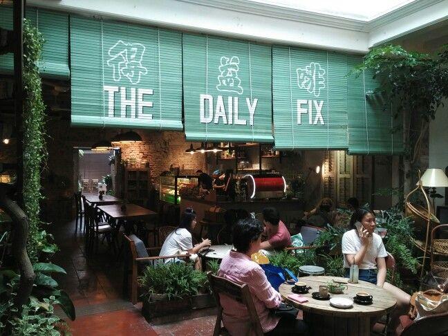 Old style cafe at Melaka