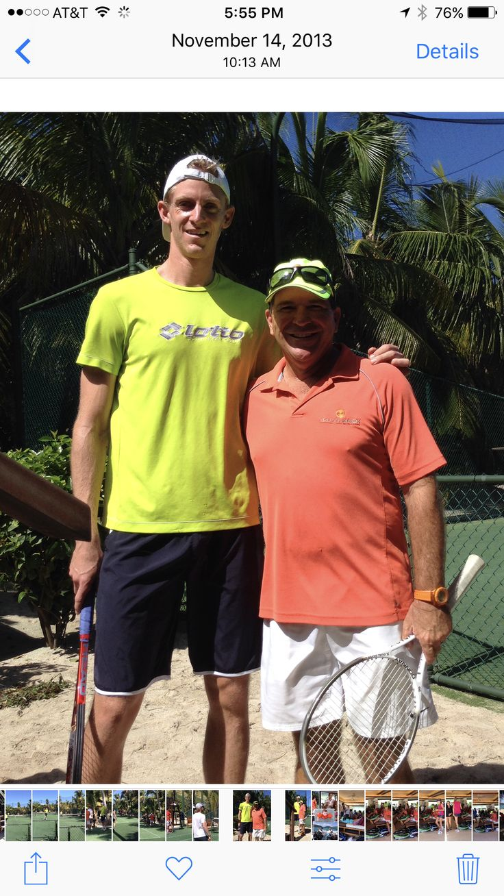 We received numerous messages and phone calls about this matter today, so let us clarify: @johankriek was indeed a South African citizen when he reached the @usopen semi-final vs Björn Borg in 1980. Johan was up 2 sets to 0 and lost in 5 sets. We are great friends with Kevin and his wife @kelseyoanderson. We are extremely happy for Kevin and hope he will be the first South African player to reach the US Open final and beyond. Good luck Kevin!! You can count on our support