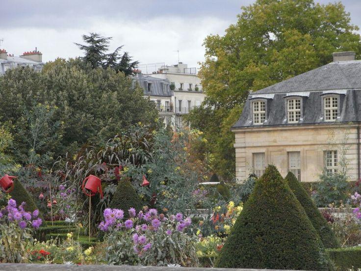 Jardines. Francia