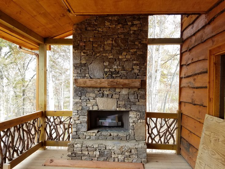 37 best stone projects images on pinterest cottages for Fireplace half stone