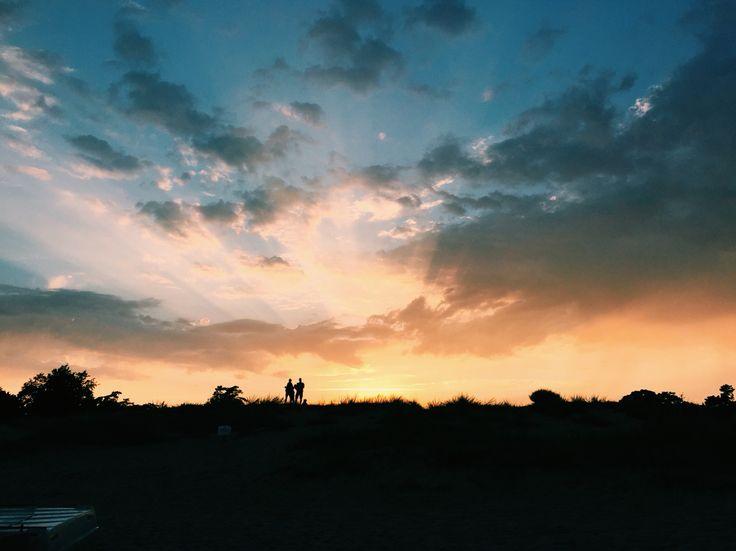 ⭐️ Sunset at Marielyst Beach, Denmark