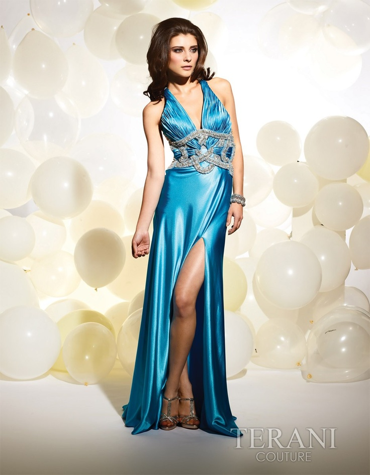 Halter Style Evening Gowns