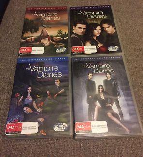 The Vampire Diaries Season 1-4 | CDs & DVDs | Gumtree Australia Penrith Area - Werrington | 1106462395