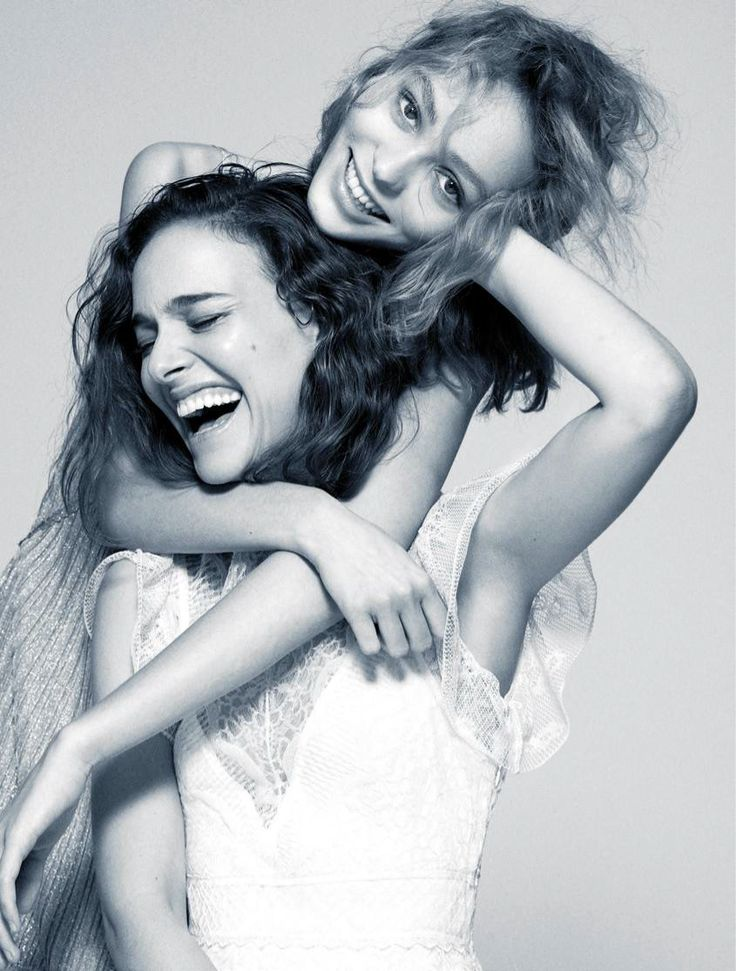 Natalie Portman and Lily-Rose Depp, photographed by Driu & Tiago for Madame Figaro, Aug 19, 2016.