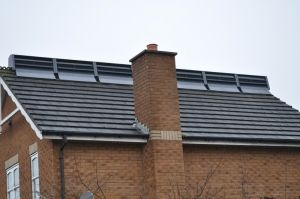 RidgeBlade wind turbine from the Power Collective Limited UK - garage roof?
