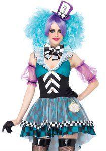 Kostuum Manic Mad Hatter -De Kaborij - Carnavals & Partykleding