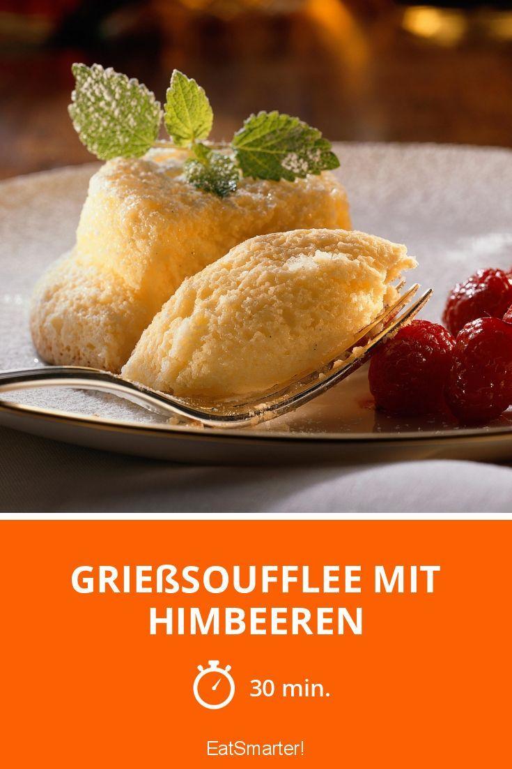 Grießsoufflee mit Himbeeren - smarter - Zeit: 30 Min. | eatsmarter.de
