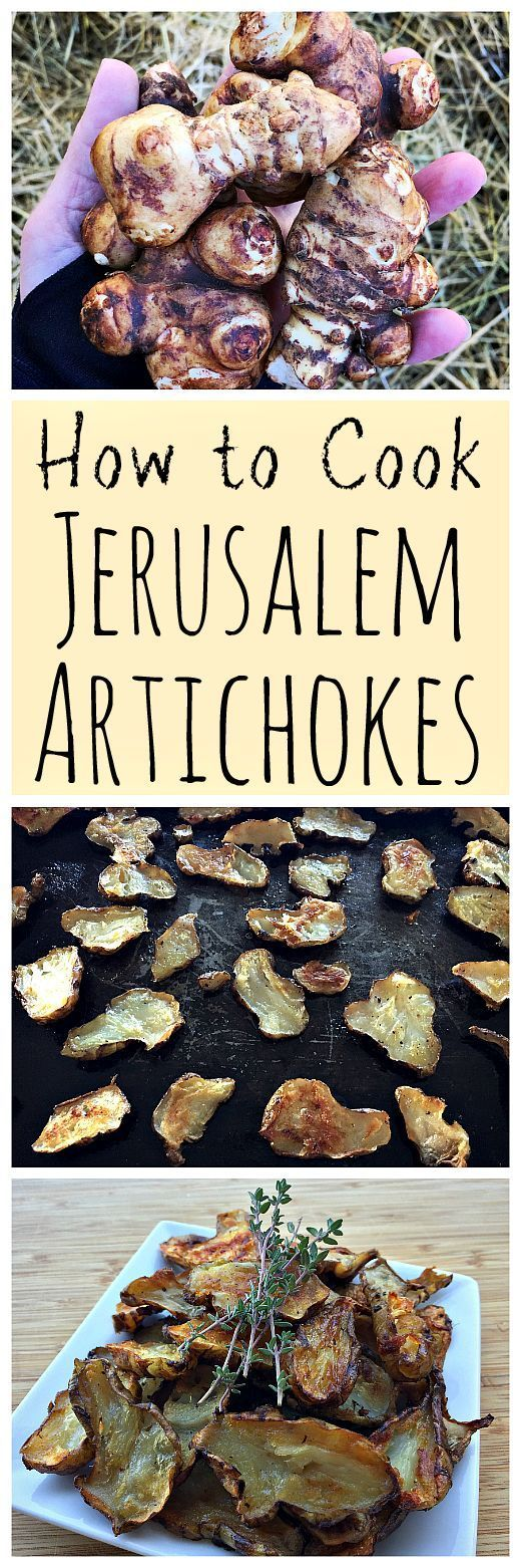 Learn how to cook these tasty tubers, Jerusalem artichokes! They are creamy, nutty, and delicious.