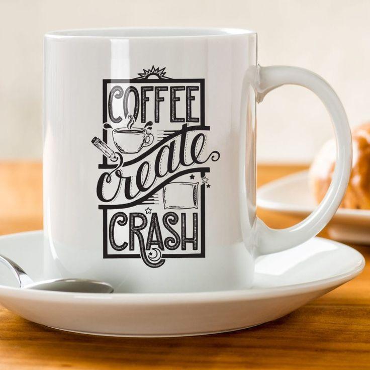 Creative Lifecycle Coffee Mug by AD Aesthetic