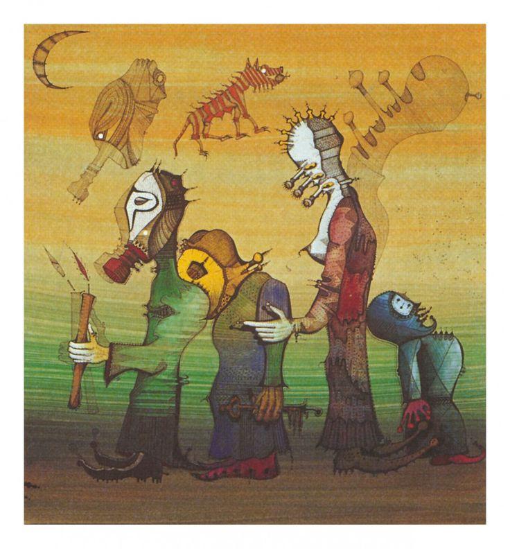 Joan Ponç, Suite fons de l'ésser, 1975