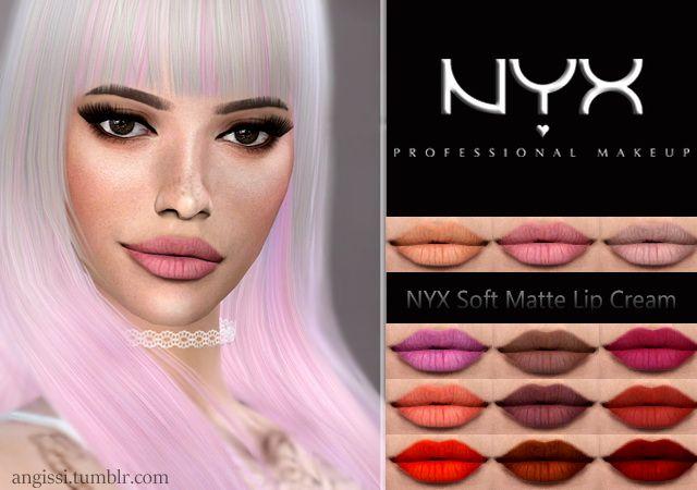 Soft Matte Lip Cream at Angissi • Sims 4 Updates