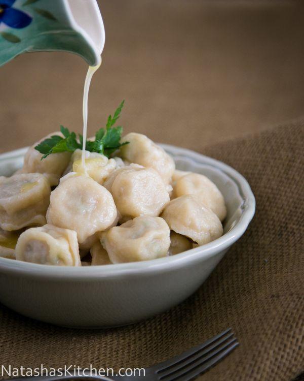 Russian Chicken Pelmeni (Dough: Buttermilk, Sour Cream, Eggs - Fillling: Ground Chicken Thighs)