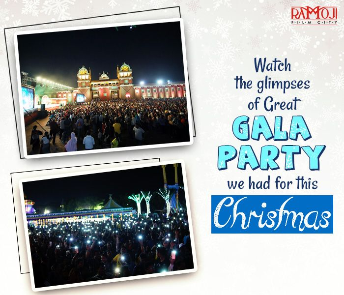 We Are Still Celebrating Radiant Christmas Dotted With Sparkling Christmas Trees Celebrations At Ramoji Film City Never Ends Family Holiday Destinations Holiday Destinations Family Holiday
