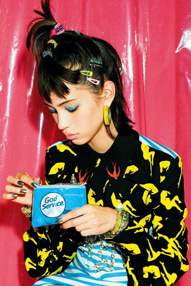 [TV] 水原希子 ガールズ♡マイブーム 私は意外と〈今〉っぽいものがスキ - NYLON JAPAN