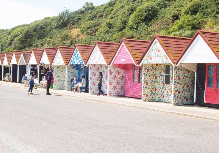 6.Beach Huts Cath Kinston bournemouth