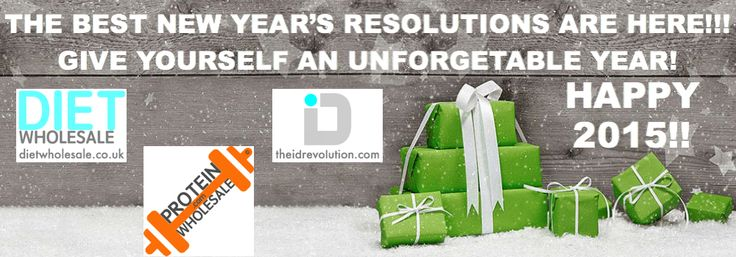 THE BEST NEW YEAR'S RESOLUTIONS ARE HERE!!!  GIVE YOURSELF AN UNFORGETABLE YEAR!