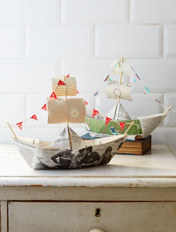 How to make a paper boat - goodtoknow