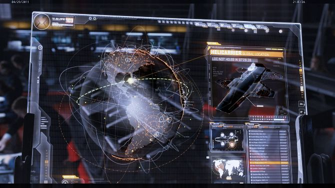 Links going around our design team right now - screenshots of the UI from movies like Tron, The Avengers and Prometheus.