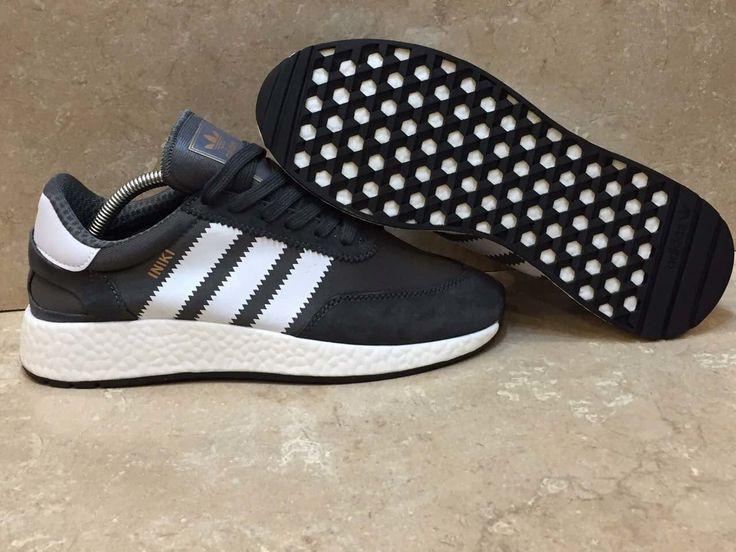 Adidas Iniki Runner Boost Grey / White