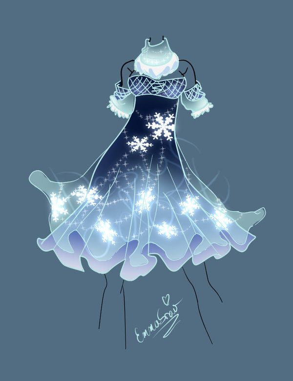 Snowflake Dress Adopt Auction Closed by InLoveWithYaoi on DeviantArt
