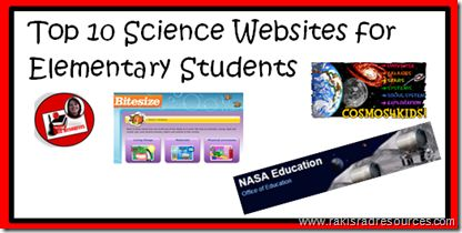 Technology Tailgate: Top 10 Science Websites for the Elementary Classro...