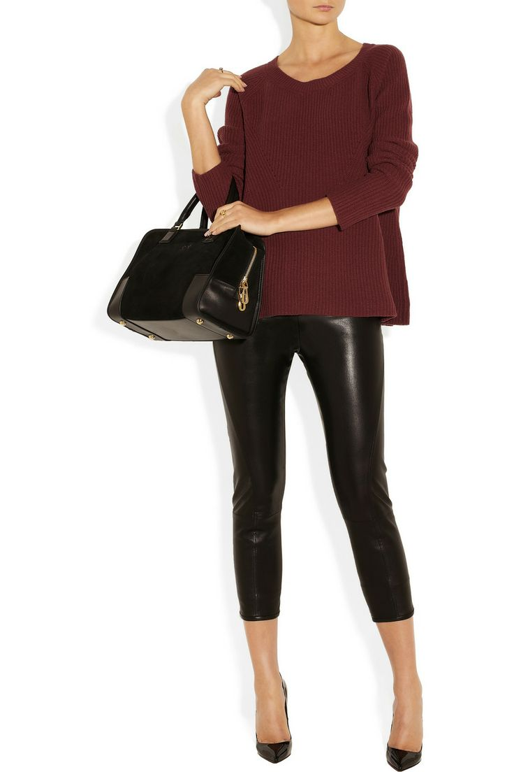 The Row|Ella merino wool and cashmere-blend sweater|NET-A-PORTER.COM