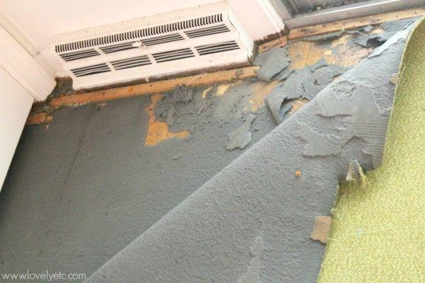 How To Remove Glued Down Carpet, How To Glue Outdoor Carpet Concrete