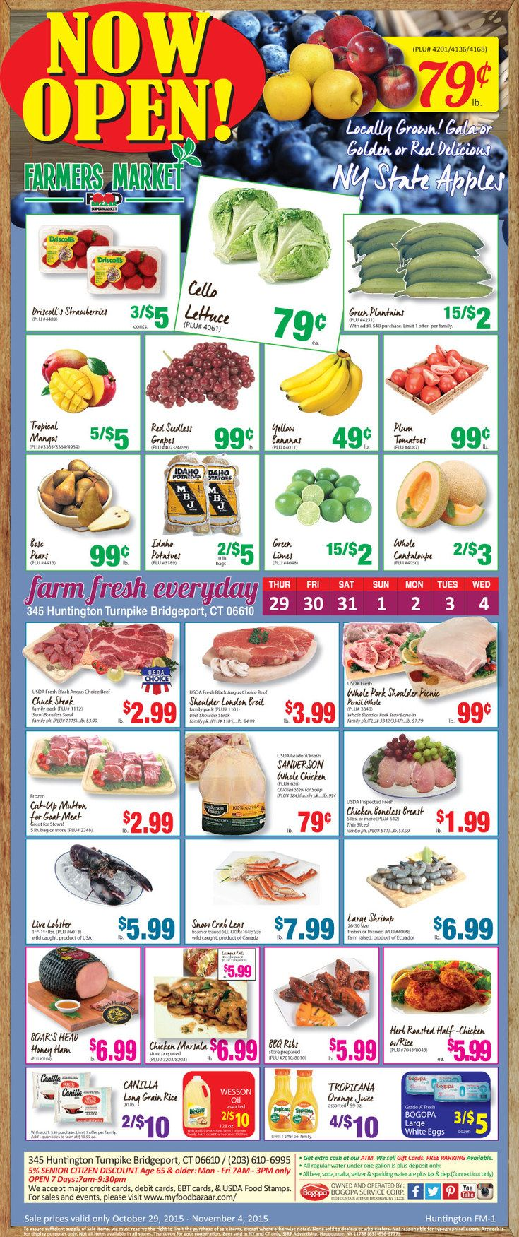 Food bazaar circular october 22 28 2015 weekly ads