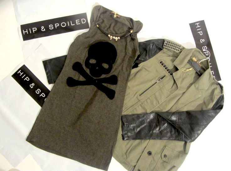 Military chic www.hipandspoiled.com
