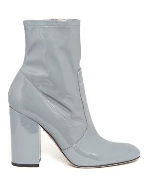 Block-heel patent-leather ankle boots   Valentino   MATCHESFASHION.COM US