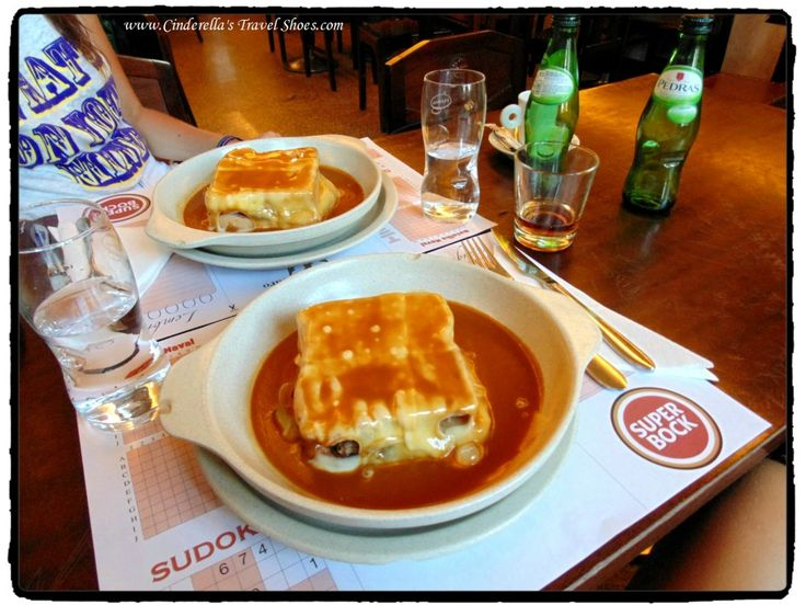 Francesinha, delicious but really heavy dish in Portugal