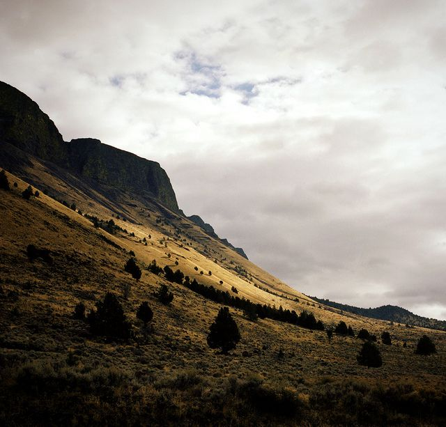 and in the distance, there was light by manyfires, via Flickr (oregon)