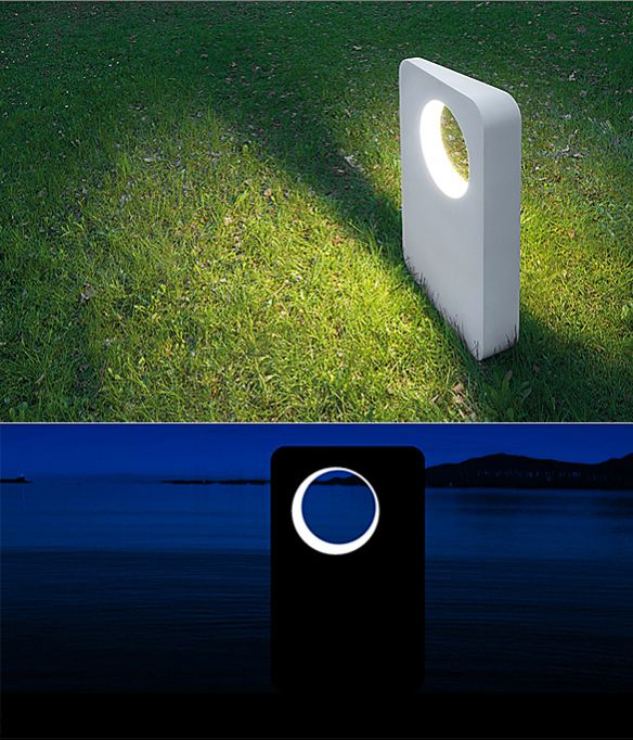 Eraclea Outdoor Floor Lamp by Neil Poulton   moddea