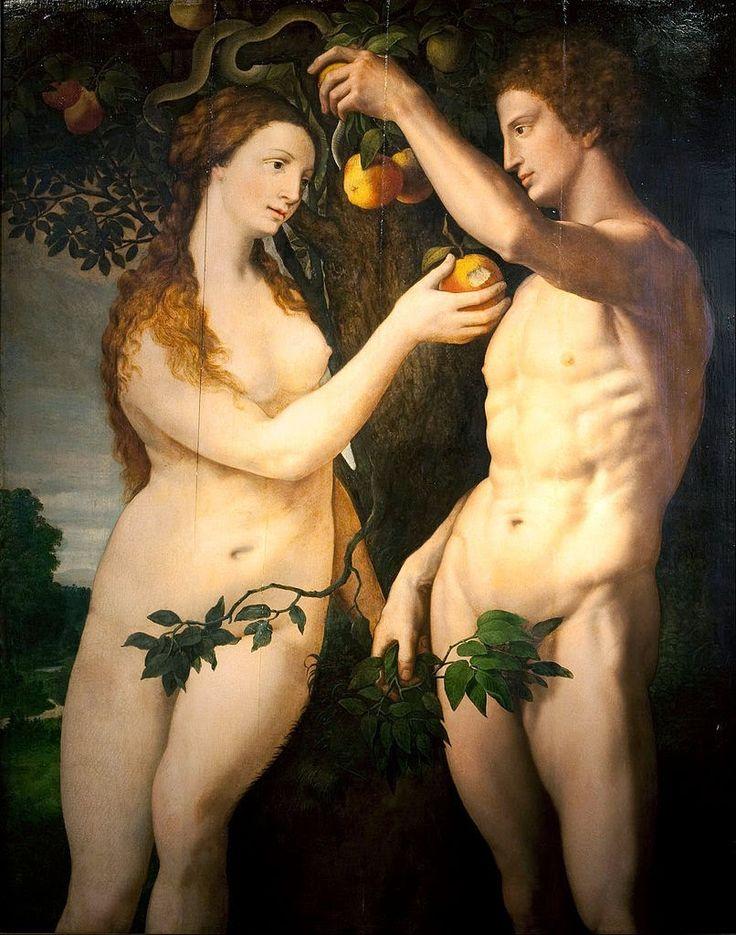 Αδάμ και Εύα  Frans Floris (1560)