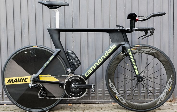 Cannondale Drapac's Cannondale Slice RS http://www.bicycling.com/bikes-gear/tour-de-france/the-time-trial-bikes-of-the-2017-tour-de-france/slide/6