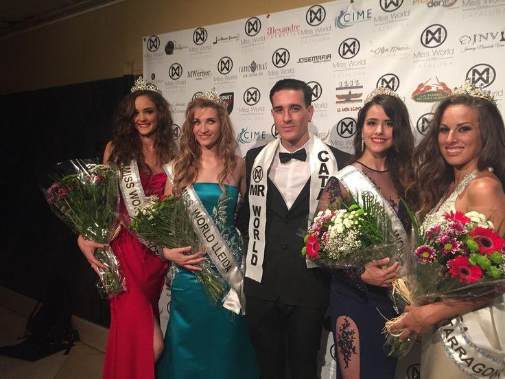 Un placer colaborar con Miss World Catalunya. Felicidades a las ganadoras