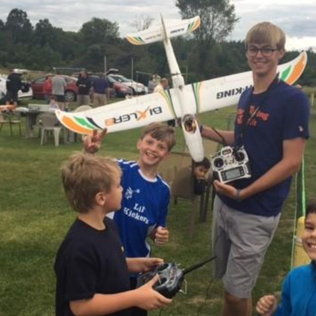 Northville Cub Scouts Pack 721 kicked off the season with a chance to fly model planes.