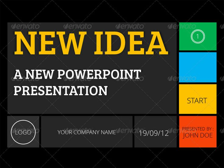 New Idea PowerPoint Presentation