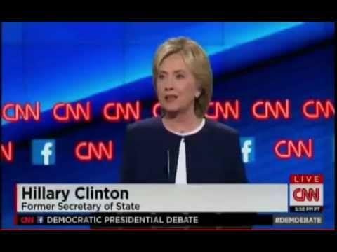 [Full] Democratic Presidential Debate CNN 2015: Bernie Sanders, Clinton, Webb, Chafee & O'Malley - YouTube