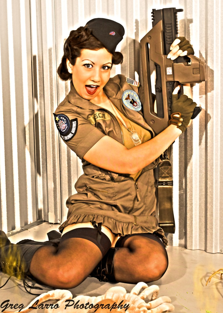 from my Aliens/Colonial Marines shoot with greg. Repin to share and don't forget to like :)