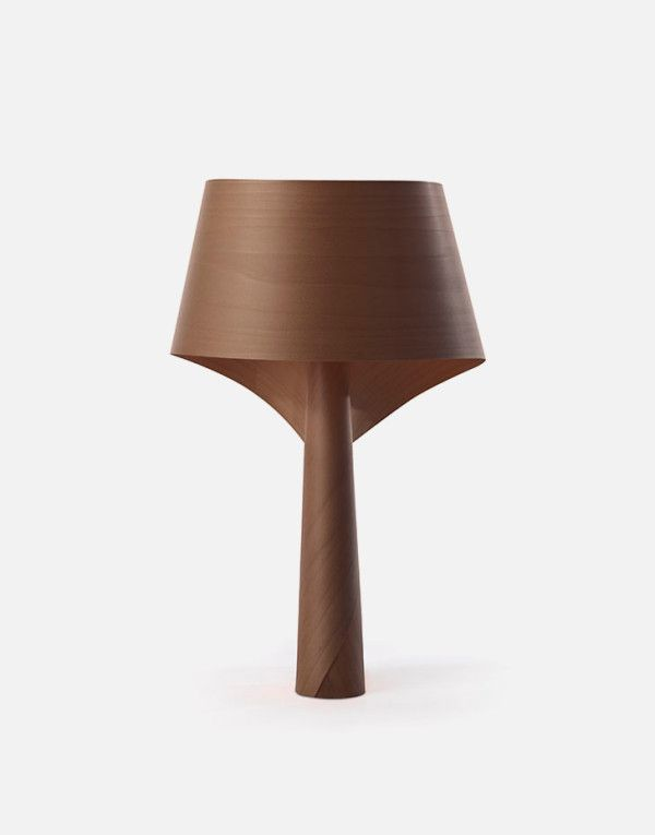 Perfect Created By Irish Designer Ray Power For Spain Wood Veneer Lamp Maker LZF,  The Air MG Is A Series Striking Table Lamp Made Of Polywood. Awesome Ideas