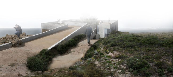 Proposal for a Landmark in Sagres, Architecture Competition, Arkxsite