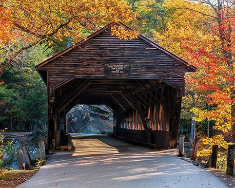 "Albany Covered Bridge - 1,000 Piece Puzzle -  Finished Size: 24""x30"" - Plus Free Gift Book - Just $15.99!"