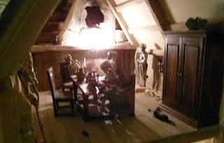 the Highwayman,dining room