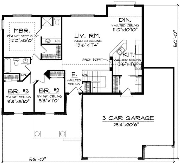 Craftsman House Plans Ranch Style: 193 Best Images About House Plans On Pinterest