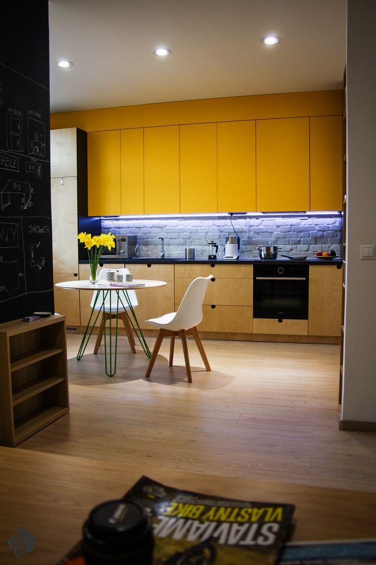 Návrh kuchyne a jedálne - Interiér bytu, Bratislava, Staré mesto - Kitchen interior by Archilab