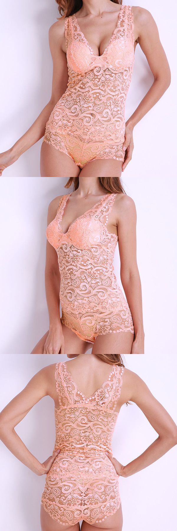 Fadaini Brand Embroidered Lace Bra Sets Seamless No Rims Soft Smooth Sleeping Vest Brassiere With Panties