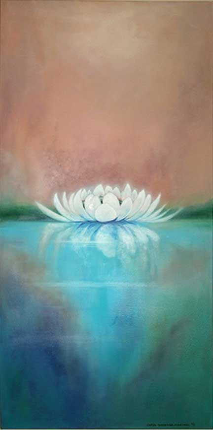 The Lotus only blooms in the mud, hence next time you are facing adversity, remember this, and bloom like the lotus