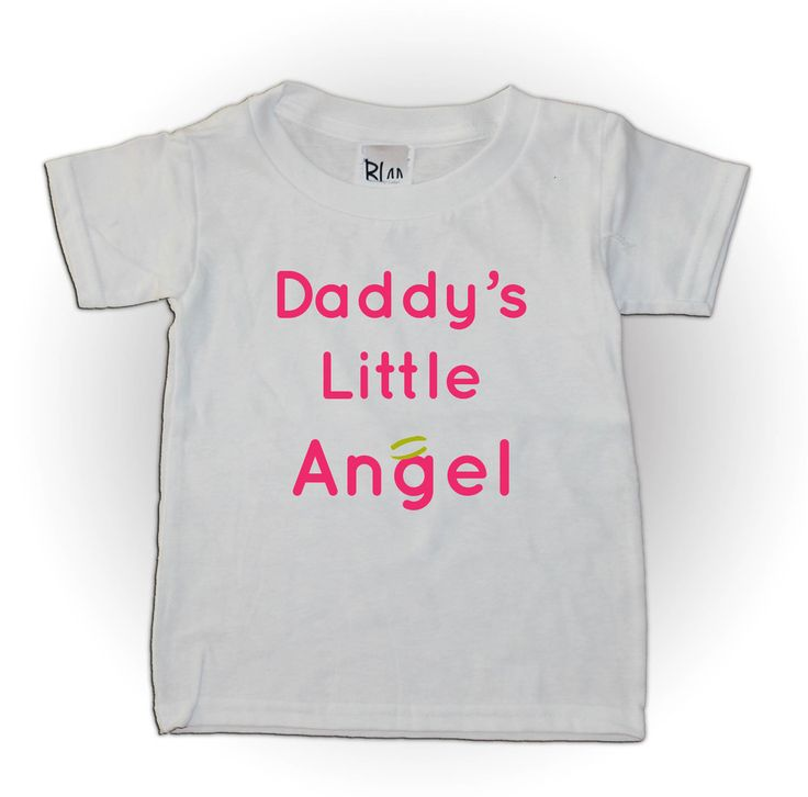This cute girls shirt would be perfect for fathers day!